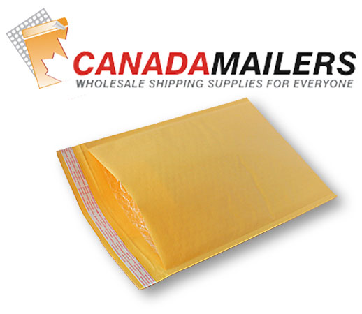 Kraft Bubble Mailer #000 - 4x7 - Box of 300